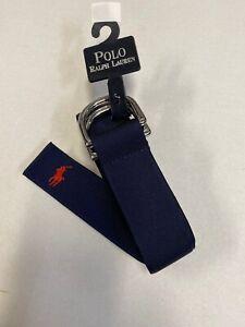 Polo by Ralph lauren Golf  Navy   Nylon Belt  Sz XL  Made in USA