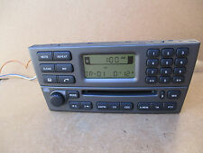 Jaguar X Type X-Type Radio Stereo CD Player 4X43 Genuine 4X43-18B876-AD +CODE