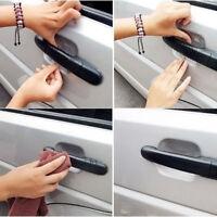 4pcs Invisible Clear Car Door Handle Paint Scratch Protector Film Guard Sheet