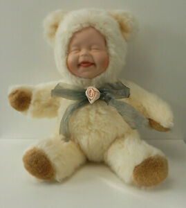 VINTAGE PLUSH SNOW BABY DISCOVERY STORE