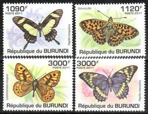 Burundi Stamp - Butterflies Stamp - NH