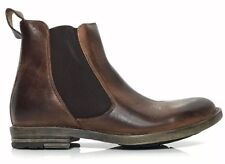 New BED STU TRIBUTE Teak Rustic Leather Mens COMFORT Ankle BOOTS 8 10.5 13 Brown