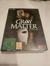 Gray Matter Collectors Edition Pc-rom Game German Version