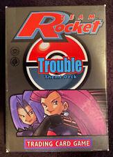 Team Rocket Trouble Theme Deck