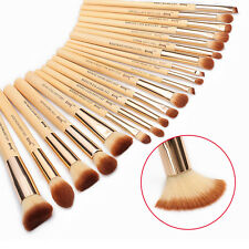 Jessup New 20pcs Bamboo Makeup Brush Set Cosmetic Brushes Kit Make up Tools T145
