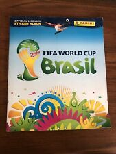 PANINI WORLD CUP BRAZIL 2014 STICKER BOOK. Completely Full, Completed, Complete