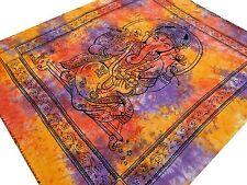 Ganesha Tenture indienne Couvre lit Jeté de lit Tapisserie Batik Ganesha Inde #1