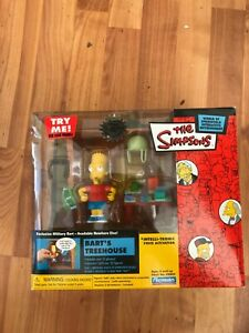 Interactif Environnement The Simpsons Militaire BART'S Treehouse Figure Set Wos