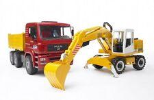 BRUDER: MAN TGA + LIEBHER - Camion + Escavatore / Truck + Excavator [2426]