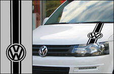 Volkswagen VW Bonnet Stripe Decal Transporter T5 T4 Campervan  Graphic Sticker
