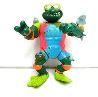 Vintage TMNT Teenage Mutant Ninja Turtles Sewer Surfer Mike Action Figure 1990