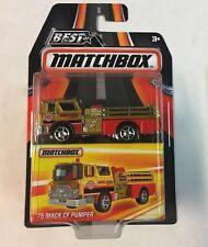 Best of Matchbox 2016 * '75 Mack CF Pumper * MXB * WB13