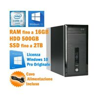 Ordenador HP Prodesk 400 G1 Mini Tower I3 4130 Serial RS232 Windows 10