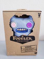 """Fuggler Funny Ugly Monster 9"""" Plush Indecisive Monster (Blue) New Free S&H"""