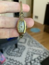 Vintage Hamilton 14k  Solid Gold Watch for scrap or Repair