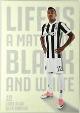 Cartoncino Juventus Stagione 2017/18 - Alex Sandro