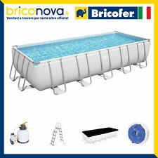 Piscina Fuori Terra Rettangolare Bestway 5612B 56441 56456 56671 56457 56466
