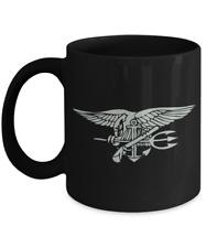 Navy Seal Coffee Mug - Silver