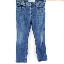 Gap 34x34 Boot Fit Blue Jeans Denim Dark Wash Faded Look Classic Vintage Heavy
