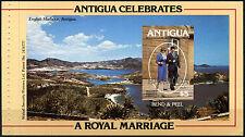 Barbuda 1981 sg#586a $5 Matrimonio Reale Gomma integra, non linguellato LIBRETTO riquadro #d42346