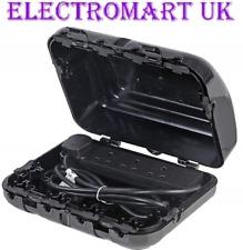 OUTDOOR GARDEN WEATHERPROOF 13A 13 AMP 4 GANG 2M SOCKET BOX ENCLOSURE IP64