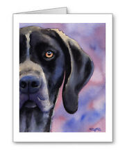 German Short Haired Pointer Set of 10 Note Cards With Envelopes