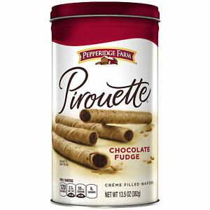 Pirouette Crème Filled Wafers Chocolate Fudge 13.5 oz