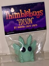"SDCC 2017 THIMBLEBUGS ""EDISON"" BY AMANDA LOUIS SPAYED FIGURE Dust Bunnies CUTE!"