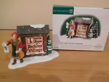 Dept 56 Dickens Village - The 12 Days of Dickens' Village Sign
