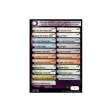 CheckList CARD  x4  NM Eldritch Moon MTG Magic Cards Check List Transform Token