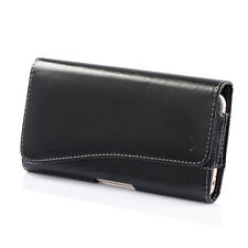 HORIZONTAL LEATHER CASE FOR IPHONE 6 6s PLUS CARRYING POUCH BELT CLIP HOLSTER
