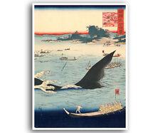 "Japanese Woodblock Print Art Reproduction Home Decor Poster 12x16"" J4"