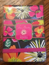 Vera Bradley JAZZY BLOOMS Pocket Papers NOTEPAD for Purse TOTE Backpack BAG NEW