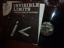 "Maxi 12"" Invisible Limits, Love is A Kind of Mystery, German Last Chance EP 1985"
