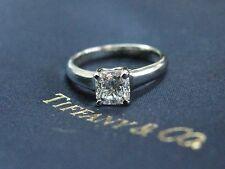 Tiffany & Co Platinum Lucida Diamond Engagement Ring D-VVS2 .87CT