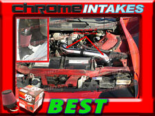K&N+BLACK RED 93-95 CHEVY CAMARO/PONTIAC FIREBIRD 3.4L V6 FULL COLD AIR INTAKE