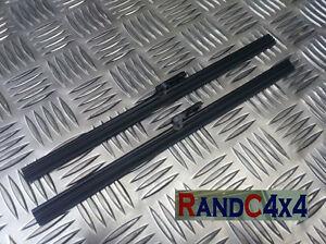 PRC1330F x2 Land Rover Series 2 2a 3 flat type wiper blades set pair (2)