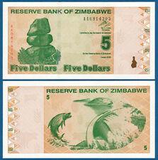 SIMBABWE / ZIMBABWE 5 Dollars  2009  UNC  P.93