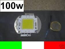 100w LED AD ALTISSIMA POTENZA BIANCO WHITE 7000LUMEN