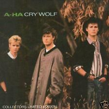 JUKEBOX 45 single A-HA CRY WOLF GATEFOLD SPECIAL 7 ""