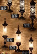 Stehlampe Orientlampe Tiffany Dekoleuchte Glas Messing Antik 1001