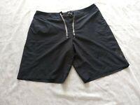 Men's Under Armour Heat Gear Black Swim Shorts Bathing Suit Swimwear Size 38
