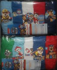 5 Pairs of PAW PATROL Boys 100% Cotton BRIEFS/PANTS - 18 Months-5 Years