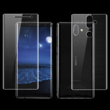 Front+Back Full Cover Screen Protector Soft Film For Nokia 7 plus 8 Sirocco Lot