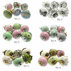 Ceramic Door Knobs in a Variety of Shabby Chic Styles (Sets of 6) Upcycle Decor