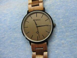 Men's BEWELL Wooden Watch w/ New Battery