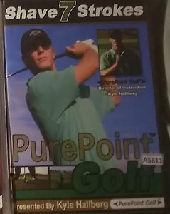 PurePoint Golf  Shave 7 strokes DVD Kyle Hallberg R0 - all regions