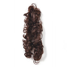 Lady Women Clip Ponytail Wavy Horsetail Curly Long Hairpieces Hair Extension Wig