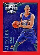 2014-15 Totally Certified Alex Len Purple 33/49 #80 Ukraine - Phoenix Suns
