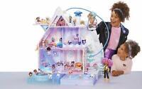 L.O.L. Surprise! Winter Disco Chalet Doll House with 95+ Surprises,